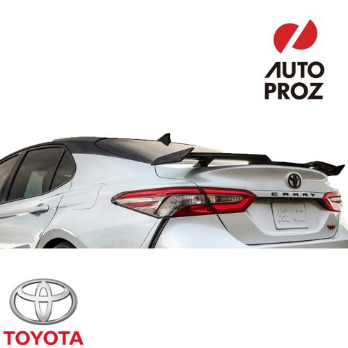 [US TOYOTA 純正品] USトヨタ限定 カムリ TRDグレード 2020年式以降現行 リアスポイラー