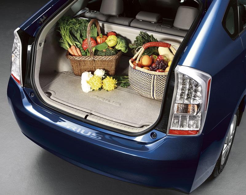 【USトヨタ 直輸入純正品】Prius プリウス2010-2011年式カーペットカーゴマット(ラゲッジマット カーゴトレー トランクマット)