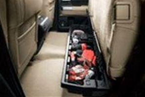 【USトヨタ 直輸入純正品】Tundra タンドラ2007-2013年後部座席下部ストレージ※ダブルキャブ用