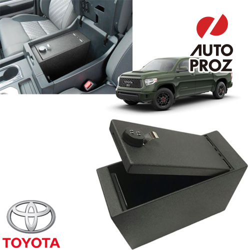 [US TOYOTA 純正品] トヨタ タンドラ 2019年式以降現行 ロック付き コンソールボックス