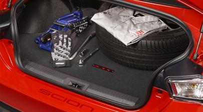 【USトヨタ直輸入純正】Scion FR-S 2012年式以降(86 ハチロク)カーペットカーゴマット(ラゲッジマット カーゴトレー トランクマット)