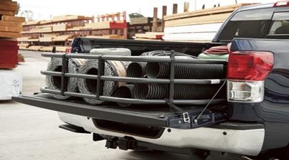 【USトヨタ 直輸入純正品】Tundra タンドラ2012-2013年(平成24~25年式)ベッドエクステンダー