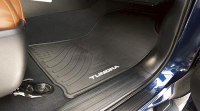 【USトヨタ 直輸入純正品】Tundra タンドラ2012オールウェザーフロアマット2ピース