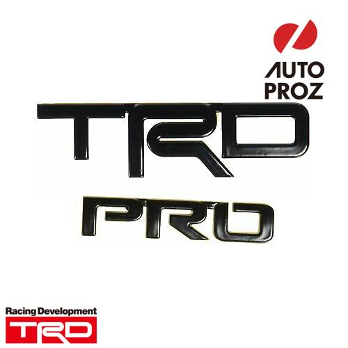 [TOYOTA 純正品] トヨタ セコイア 2020年以降現行 TRD Pro仕様 TRD Pro ロゴ エンブレム ブラック