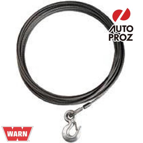[WARN 正規品] ワイヤーロープ/ウインチケーブル 9.5mm×38.1m