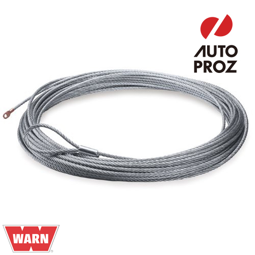 [WARN 正規品] PowerPlant 12シリーズ 交換用 ワイヤーロープ/ウインチケーブル 9.5mm×24.3m