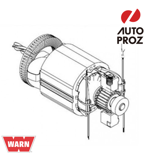[WARN 正規品] PullzAll 120V用 モーター交換キット