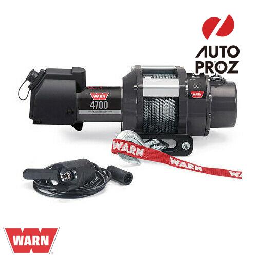 [Warn 正規品] 4700DCシリーズ 12V 電動ウインチ CE