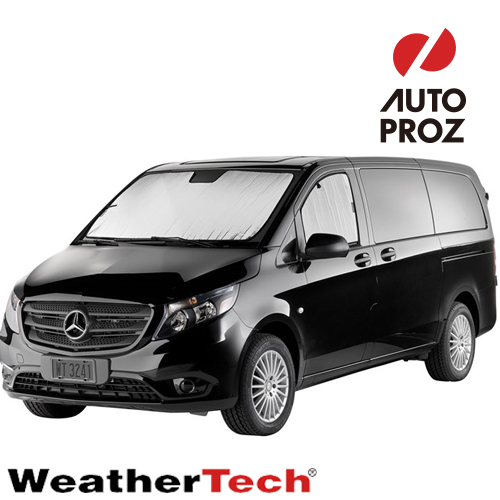 [WeatherTech 正規品] メルセデスベンツ スプリンター 2018年式以降現行 フロント・前列サンシェード