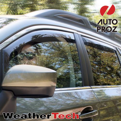 [Weather Tech・直輸入正規品]Land Rover Evoque(ランドローバー イヴォーク) 2012-2013年ウェザーテック ウィンドウディフレクター(ウィンドーバイザー/サイドバイザー)