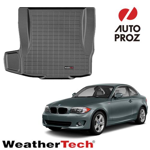 【Weather Tech直輸入正規品】BMW 1シリーズクーペE81/E82/E87/E882007-2013年ウェザーテック カーゴライナーカラー:ブラックカーゴトレイ・カーゴマット(ラゲッジ用ラバーマット/トランクマット)