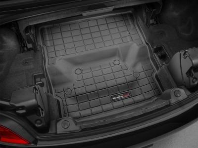 【Weather Tech直輸入正規品】BMW Z4 2012-2016年ウェザーテック カーゴライナーカラー:ブラックカーゴトレイ・カーゴマット(ラゲッジ用ラバーマット/トランクマット)