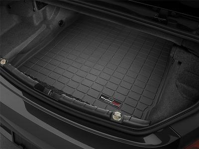 【Weather Tech直輸入正規品】BMW 6シリーズコンバーチブル2016年ウェザーテック カーゴライナーカラー:ブラックカーゴトレイ・カーゴマット(ラゲッジ用ラバーマット/トランクマット)