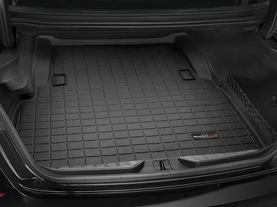 【Weather Tech直輸入正規品】Maserati マセラティQuattroporte クアトロポルテ2014-2015年ウェザーテック カーゴライナーカラー:ブラックカーゴトレイ・カーゴマット(ラゲッジ用ラバーマット/トランクマット)