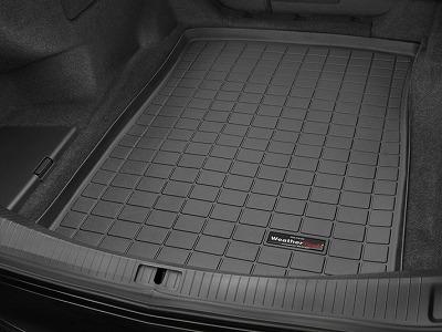 【Weather Tech直輸入正規品】Cadillac キャデラックCTS セダン2014-2015年ウェザーテック カーゴライナーカラー:ブラックカーゴトレイ・カーゴマット(ラゲッジ用ラバーマット/トランクマット)