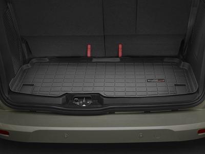 【Weather Tech直輸入正規品】Ford フォードトランジットコネクトワゴン3列目以降2014-2015年ウェザーテック カーゴライナーカラー:ブラックカーゴトレイ・カーゴマット(ラゲッジ用ラバーマット/トランクマット)