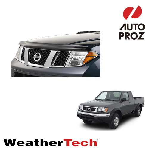 [WeatherTech 正規品] NISSAN 日産 Datsun TruckダットサントラックD22型に適合ウェザーテック製フードプロテクターフッドプロテクター(別名:バグガード)