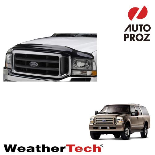 [WeatherTech 正規品] Ford フォードExcursion エクスカージョン2002-2005年・F-250/350/450/5502003-2007年ウェザーテック製 フードプロテクターフッドプロテクター(別名:バグガード)