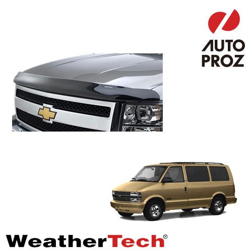 [WeatherTech 正規品] ウェザーテック シボレー アストロ全年式用 フッドプロテクター/バグガード