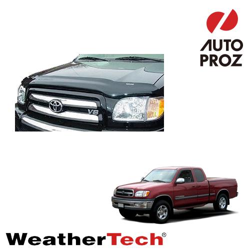 [WeatherTech 正規品] TOYOTA トヨタTundra タンドラ1999-2006年ウェザーテック製 フードプロテクターフッドプロテクター(別名:バグガード)