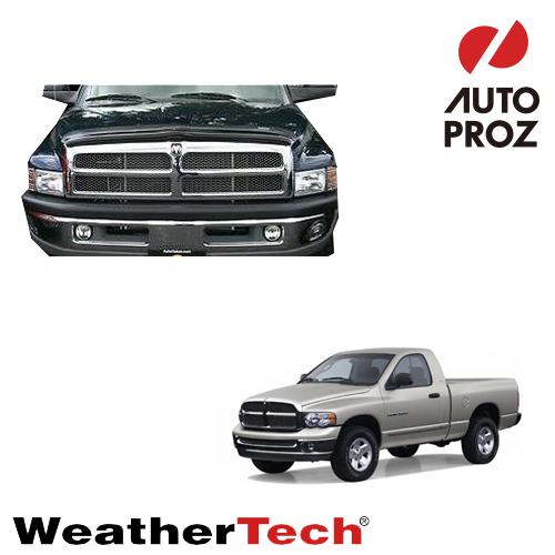 [WeatherTech 正規品] Dodge ダッジRam ラム1500 / 2500 / 35001995-2002年ウェザーテック製 フードプロテクターフッドプロテクター(別名:バグガード)