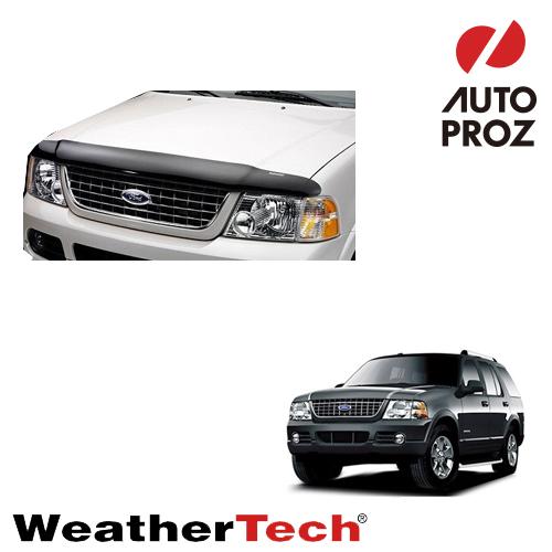 [WeatherTech 正規品] Ford フォードExplorer エクスプローラー4ドア 2002-2005年ウェザーテック製 フードプロテクターフッドプロテクター(別名:バグガード)