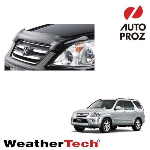 [WeatherTech 正規品] ウェザーテック HONDA ホンダCR-V RD4/5/7型用 フッドプロテクター/バグガード2001年-2006年式