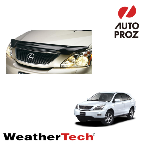 [WeatherTech 正規品] Lexus レクサスRX (トヨタ ハリアー)2004-2009年ウェザーテック製 フードプロテクターフッドプロテクター(別名:バグガード)