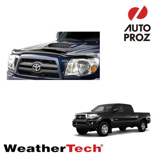 [WeatherTech 正規品] TOYOTA トヨタTacoma タコマ2005-2011年ウェザーテック製 フードプロテクターフッドプロテクター(別名:バグガード)