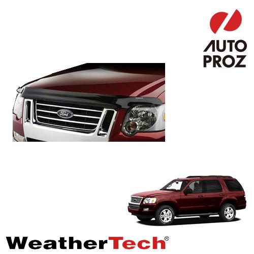 [WeatherTech 正規品] Ford フォードExplorer エクスプローラー2006-2010年ウェザーテック製 フードプロテクターフッドプロテクター(別名:バグガード)