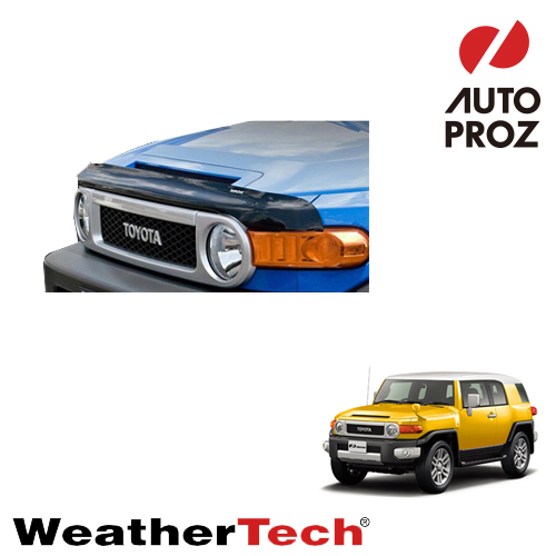 [WeatherTech 正規品] TOYOTA トヨタ FJクルーザー 全年式適合 ウェザーテック製 フードプロテクター フッドプロテクター(バグガード)