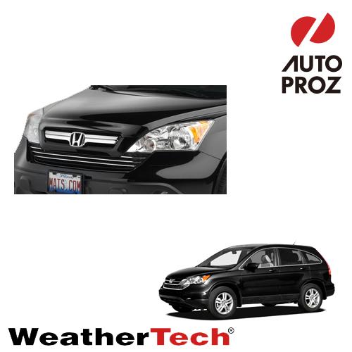 [WeatherTech 正規品] HONDA ホンダ CR-VRE3/RE4型用 2006年-2011年式ウェザーテック製フードプロテクターフッドプロテクター(別名:バグガード)