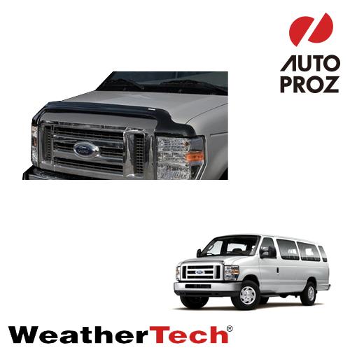 [WeatherTech 正規品] Ford フォードEconoline エコノライン2008-2013年ウェザーテック製 フードプロテクターフッドプロテクター(別名:バグガード)