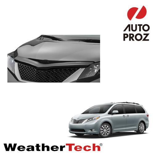 [WeatherTech 正規品] TOYOTA トヨタSienna シエナ2011-2015年ウェザーテック製 フードプロテクターフッドプロテクター(別名:バグガード)