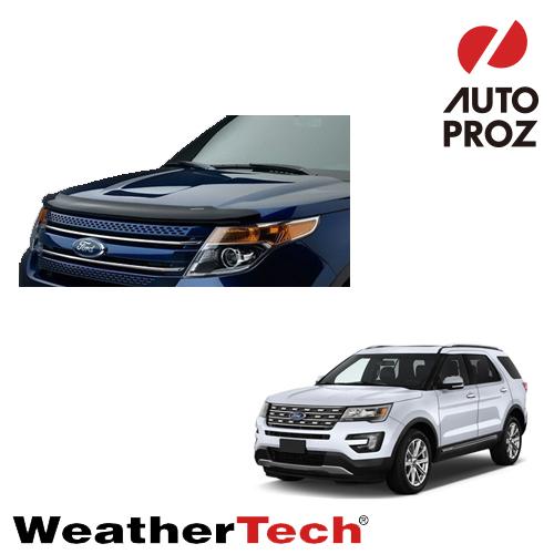 [WeatherTech 正規品] ウェザーテック フォード エクスプローラー 2010年 - 2015年式 前期型用 フッドプロテクター/バグガード
