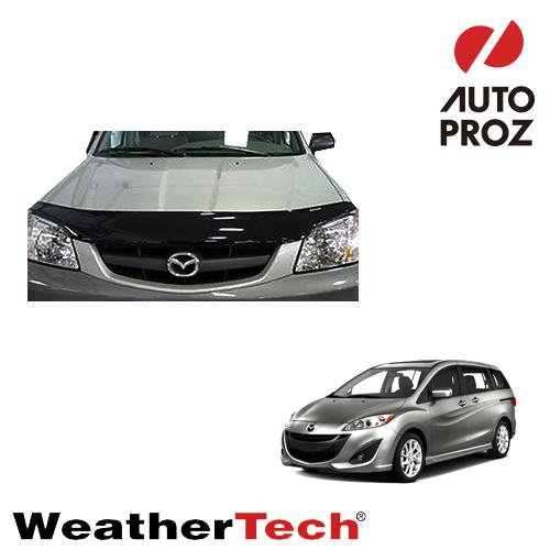 [WeatherTech 正規品] Mazda マツダMazda5(PREMACY プレマシー)2012-2015年ウェザーテック製 フードプロテクターフッドプロテクター(別名:バグガード)