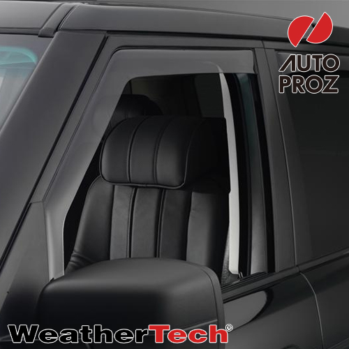 [Weather Tech・直輸入正規品]ウェザーテック ランドローバーRange Rover 2003-ウィンドウディフレクター(ウィンドーバイザー/サイドバイザー 雨除け)