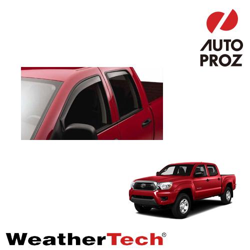 [WeatherTech 正規品] タコマ cab 2005-2014年 Double タコマ cab ダブルキャブ用 Double サイドバイザー/ドアバイザー, バイク メンテ館:f7945566 --- sunward.msk.ru