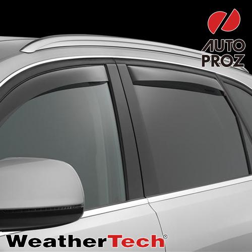[Weather Tech・直輸入正規品]ウェザーテック Audi アウディ Q5 2008-ウィンドウディフレクター(ウィンドーバイザー/サイドバイザー 雨除け)