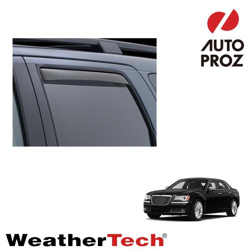 [WeatherTech 正規品] クライスラー 300 2011年式以降現行用 サイドバイザー/ドアバイザー