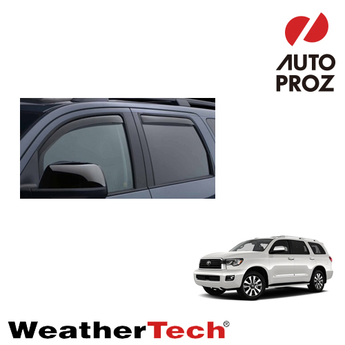 [WeatherTech 正規品] トヨタ セコイア 2008年式以降現行用 サイドバイザー/ドアバイザー