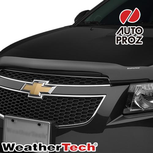 [Weather Tech直輸入正規品]Chevrolet シボレーCruze クルーズ2011-2015年ウェザーテック製 フードプロテクターフッドプロテクター(別名:バグガード)
