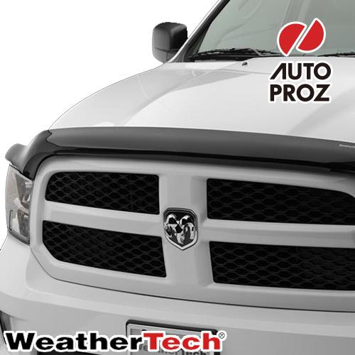 [WeatherTech 正規品] クライスラー PT クルーザー コンバーチブル 2005年式以降現行 フッドプロテクター/バグガード ダークスモーク