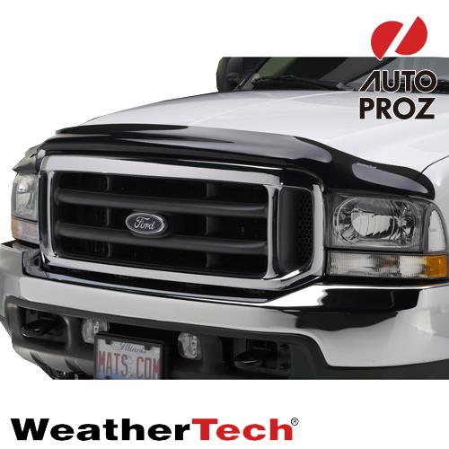 [WeatherTech 正規品] フォード F-150 ラプター 2017年式以降現行 フッドプロテクター/バグガード ダークスモーク