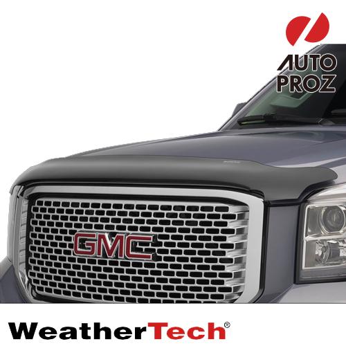 [Weather Tech直輸入正規品]GMC Sierra シエラ 2500HD/3500HD 2014年ウェザーテック製 フードプロテクターフッドプロテクター(別名:バグガード)
