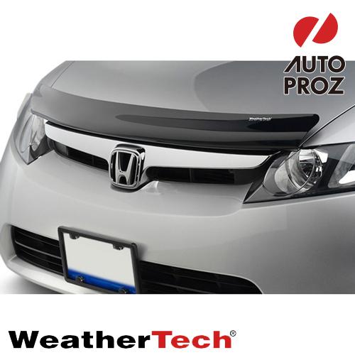 [WeatherTech 正規品] ホンダ オデッセイ 2014-2016年式 フッドプロテクター/バグガード ダークスモーク