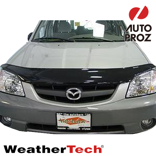 [Weather Tech直輸入正規品]Mazda マツダMazda2(DEMIO デミオ)2011-2014年ウェザーテック製 フードプロテクターフッドプロテクター(別名:バグガード)