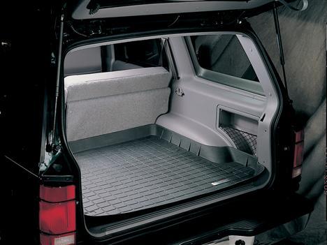 【Weather Tech直輸入正規品】Ford Explorer 4ドア(フォード エクスプローラー)1995-2001年ウェザーテック カーゴライナーカラー:ブラックカーゴトレイ・カーゴマット(ラゲッジ用ラバーマット/トランクマット)