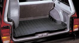 【Weather Tech直輸入正規品】Jeep Cherokee(ジープ チェロキー)2ドア 1984-1996年ウェザーテック カーゴライナーカラー:ブラックカーゴトレイ・カーゴマット(ラゲッジ用ラバーマット/トランクマット)