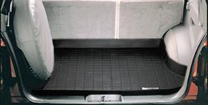【Weather Tech直輸入正規品】Jeep Grand Cherokee(ジープ グランドチェロキー)1993-1998年ウェザーテック カーゴライナーカラー:ブラックカーゴトレイ・カーゴマット(ラゲッジ用ラバーマット/トランクマット)